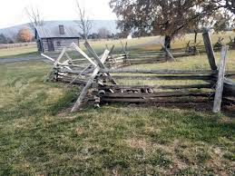 Weathered White Oak Split Rail Fence In A Field Of Green Grass Stock Photo Picture And Royalty Free Image Image 92564317