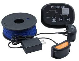 Dr Tiger 2 Dog Electric Fence System In Ground Invisible Dog Containment 650 Ft Wireless Dog Fence Dog Fence Your Dog