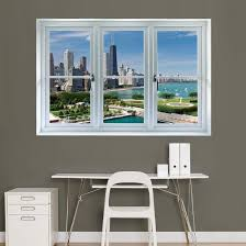 Chicago Skyline Window Decal Sticker Window Decal Allposters Com