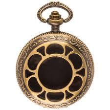 empty pocket watch pendant handmade