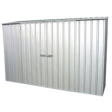 0 78 x 1 92m trimslider zinc shed