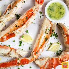 Grilled Crab Legs with Garlic Butter ...