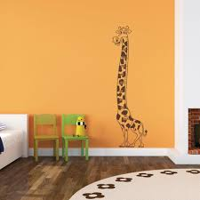 Growing Giraffe Wall Decal Style And Apply