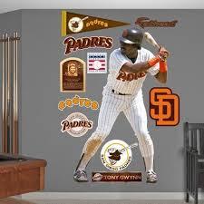 San Diego Padres Tony Gwynn Wall Decal Sticker Wall Decal Allposters Com