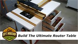 How To Build The Ultimate Router Table With Incra Pt 2 Youtube