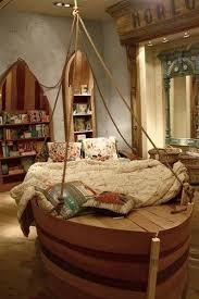 A Peter Pan Nursery Cool Kids Bedrooms Kids Room Design Boat Bed