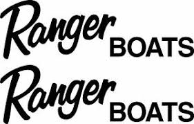 Sticker Pair Bass Boat Truck Window X2 Ranger Boats Logo 4x12 Inch Vinyl Decal Auto Parts And Vehicles Boat Decals Magenta Cl