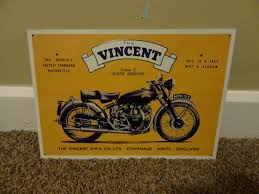vincent metal advertising