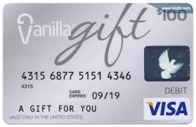 prepaid vanilla card activation