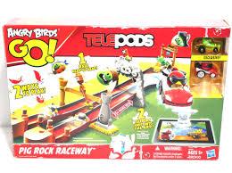 AngryBirds Go - #Telepods - #PigRockRacewaySet - Open Box Unused ...