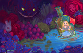alice in wonderland trippy wallpapers