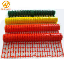 China Construction Site Usage Temporary Orange Plastic Safety Fence China Fence Wire Mesh