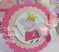 Invitaciones Peppa Pig Por Manualidadeskukys En Etsy Fiesta De