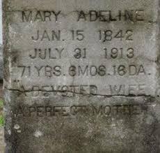 Mary Adeline Anderson Cox (1842-1913) - Find A Grave Memorial