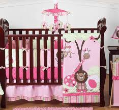jungle baby bedding 9pc crib set