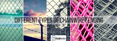 Different Types Of Chainwire Fencing Chainwire Fencing Specialist