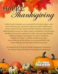 Thanksgiving Messages From Florida S Elected Officials And Politicians