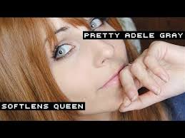 Pretty Adele Gray ✩ Soflens Queen - YouTube