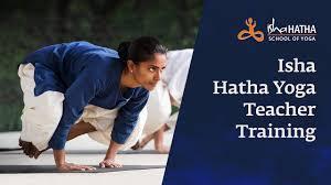 isha foundation hatha yoga teacher