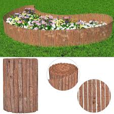 log panel lawn edging pine wooden