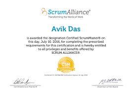 Avik das scrum alliance-csm_certificate