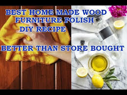wood furniture polish spray diy recipe
