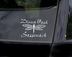 Dragonfly Car Decal Etsy