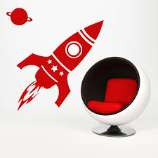 Space Rocket Wall Decals By Artollo