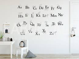 Abc Wall Decal Kids Room Decor Back To School Alphabet Sticker Kids Room Wall Decals Abc Wall Kids Wall Decals