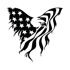 Eagle Window Decals Flag Decal Sticker Car American Sutanrajaamurang