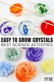 how to grow crystals with borax fast