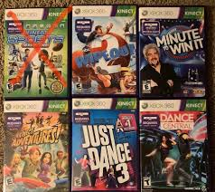 XBox 360 KINECT Games - Video Games ...
