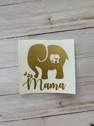 Oracal Glassware Drinkware Home Garden In 2020 Elephant Stickers Grandma Gifts Vinyl Crafts