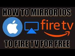 how to mirror ios to fire tv