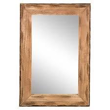 framed mirror wall