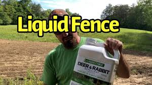 Keep Deer Out Of The Garden Liquid Fence Deer And Rabbit Repellent Youtube