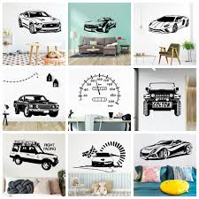 Excellent Stickers Car Speedometer Wall Sticker For Kids Room Vinyl Decals Car Sticker For Baby Wall Decal Wallpaper Aliexpress Com Imall Com