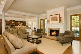 living room design by rinehart custom