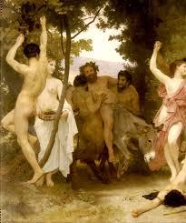 La Jeunesse De Bacchus Left Detail Painting   William Bouguereau ...