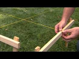 Fence Planning Building Tutorial Lay Out And Dig A Post Hole From Lowes Com Fence Planning Diy Fence Pergola Designs