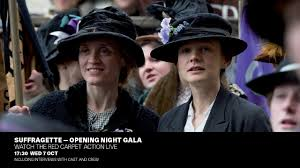 Suffragette: Live from the BFI London Film Festival