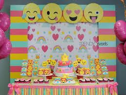 Decoracao Parede 1 Emoji Fiesta Fiesta De Cumpleanos Emoji