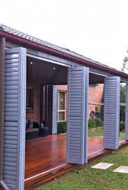 aluminium shutters louvres fixed bi