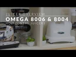 omega 8006 8004 horizontal juicer