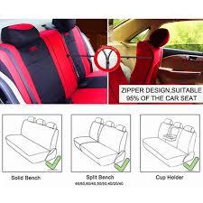 full set classic 9pcs car seat covers