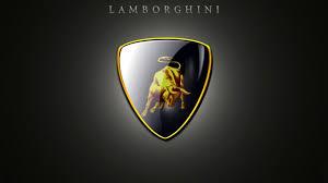 lamborghini logo 3d and hd wallpaper