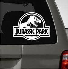Jurassic Park Car Decal Jurassic Park Car Jurassic Park Jurassic Park Jeep