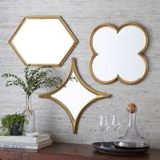 monte mirrors west elm mirror wall