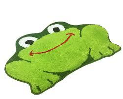 Amazon Com Rug Cartoon Frog Cat Absorbent Mat Children Bath Mat Living Room Carpet Bedroom Frog Furniture Decor