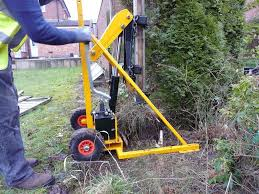 Hydraulic Post Puller Hire Northern Ireland Marley Hire
